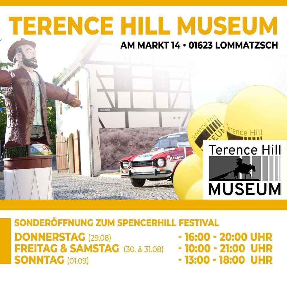 Terence Hill Museum Sonderöffnungszeiten zum Festival
